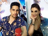 Video : Sidharth Was Told Jacqueline Is A DJ When They First Met
