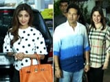 Video : Sachin Tendulkar & Shilpa Shetty At The Screening Of <i>Sniff</i>