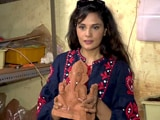 Video: Richa Chadha Sculpts An Eco-Friendly Ganesh Idol