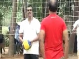 Video : In Break From Politics, AIADMK Lawmakers Enjoy Swings And Volleyball