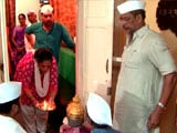 Video : Ganpati Pooja At Nana Patekar's Home