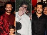 Video: Big B, Aamir, Salman & Other Stars At Ambani's Ganesh Chaturthi Celebrations