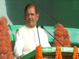 Video : 'Pan-India Grand Alliance': Sharad Yadav Vows At Lalu Yadav's Big Rally