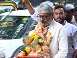 Video : Watch: Sanjay Leela Bhansali Bids Adieu To Lord Ganesha