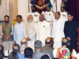 Video : 9 New Union Ministers Take Oath As PM Modi Revamps Cabinet