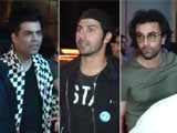 Video : Watch! Ranbir, Varun, Aditya & Karan's Night Out In Mumbai