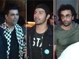 Video : Watch! Ranbir, Varun, Aditya & Karan's Night Out In Mumbai