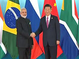 Video : Week After Doklam Thaw, A PM Modi-Xi Jinping Handshake At BRICS