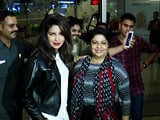 Video : Priyanka Chopra Leaves For Toronto