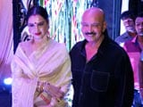Video : Hrithik, Rekha & Other Celebs At Rakesh Roshan's Birthday Bash