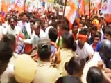Video : At BJP's Mega Rally In Mangaluru, Top Leader BS Yeddyurappa Detained