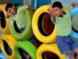 Video: Playgrounds For Children From Scrap Tyres