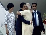 Video: A Hug, Roadshow With PM Modi As Japan's Abe Starts Gujarat Tour