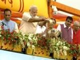 Video : On Birthday, PM Launches Sardar Sarovar Dam, Called 'Gujarat's Lifeline'