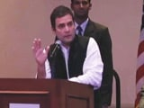 Video : 'Divisive Politics Ruining India's Reputation Abroad', Says Rahul Gandhi In US