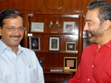 Video: Arvind Kejriwal, Kamal Haasan To Meet For Lunch. Main Course Is Politics