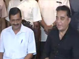 Video : We Both Fight Corruption, Says Kamal Haasan After Arvind Kejriwal Meeting