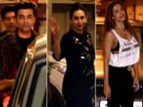 Video : KJO, Karisma, Malaika & Other Stars At Kareena Kapoor's Birthday Bash