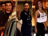 Video : KJO, Karisma, Malaika & Other Stars At Kareena Kapoor's Birthday Bash