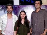 Video : Aditi Rao Hydari & Rajkummar Rao Promote Bhoomi & Newton