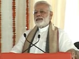Video : Solution To Every Problem Is Development, Says PM In Varanasi