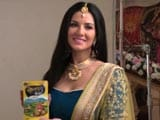 Video : On The Sets Of Sunny Leone's Ad Shoot