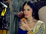 Video: On The Sets Of Sunny Leone's Ad Shoot