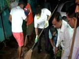 Video : Sachin Tendulkar Participates In #SwachhataHiSeva, Cleans The Streets Of Mumbai
