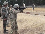 Video : 'It's Good': When US Soldiers Fired INSAS Rifle In Joint Military Drill