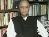 Video : 'Cheap Trick' If Son Jayant Was Told To Write Rebuttal: Yashwant Sinha