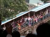 Video : Video: The Stampede On Elphinstone Bridge In Mumbai, 22 dead