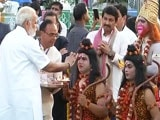 Video : PM Modi attends Dussehra celebrations at Red Fort