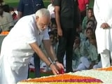 Video : PM Pays Tribute To Mahatma Gandhi, Will Address Nation