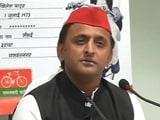Video : Akhilesh Yadav Re-Elected Samajwadi Party National Chief For 5-Year Term