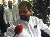 Video : वंशवाद कामयाबी का मंत्र नहीं हो सकता : राम विलास पासवान