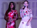 Video : Richa Chadha & Kalki Koechlin Launch The Song <i>Nach Basanti</i>