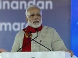 Video : In Gujarat, PM Modi Takes A Swipe At Critics of Bullet Train