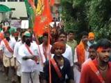 Video : In Kerala, Provocative Slogans Raised During BJP's Jan Raksha Yatra