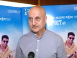 Video : Anupam Kher On Becoming The New Chairman Of FTII