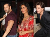 Video: Salman, SRK, Katrina, KJo & Other Stars At Arpita Khan's Diwali Party