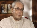 Video : Pranab Mukherjee On Sonia Gandhi's Decision To Not Choose Him As PM