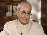 Video : Indira Wasn't Madame Tussauds Statue: Pranab Mukherjee On Gandhi Family