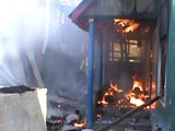 Video : Day After Murder Of Sarpanch In Kashmir, His House Set On Fire