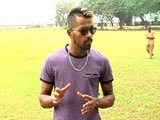 Video : Sachin Tendulkar's Belief Gave Me A Lot Of Self-Confidence, Says Hardik Pandya