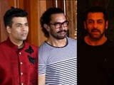 Video : Aamir, Salman, KJO & Other Stars At Sanjay Dutt's Diwali Bash