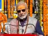 Video : In Kedarnath, PM Modi Seeks Blessings For A 'Developed India' By 2022