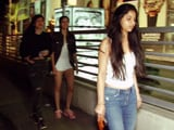 Video : Suhana Khan On Movie Date With Girlfriends