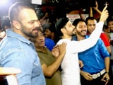 Video : Golmaal Again Team Mobbed Outside Gaiety Galaxy Cinema