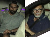 Video : Shahid Kapoor & Rakeysh Omprakash Mehra Spotted Outside Aamir's House