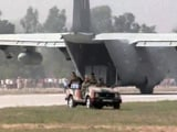 Video : First Of 16 Air Force Planes Lands On Expressway Near Lucknow